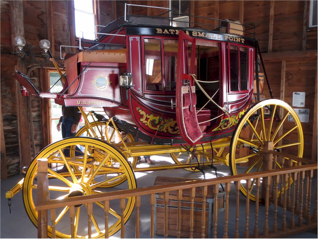 Willowbrook Farm stagecoach